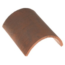 Traditional Handmade heritage shingle HALF ROUND RIDGE TILE