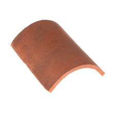 Traditional Handmade heritage shingle THIRD ROUND RIDGE TILE