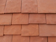 Traditional Handmade heritage shingle colour RED